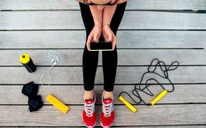 Картинка cell, strings, fitness, sportswear