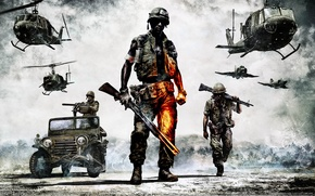 Картинка game, Battlefield, Bad Company2, Vietnam