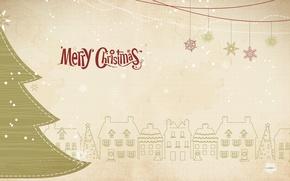 Картинка Новый год, ёлка, Merry Christmas