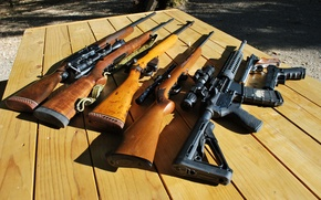 Картинка пистолет, оружие, автомат, Винтовка