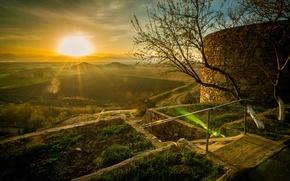 Картинка восход, Армения, Арарат