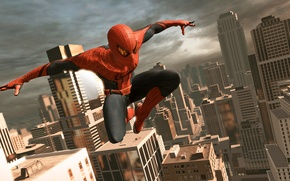 Обои игра, game, The Amazing Spider-Man, Новый Человек-паук