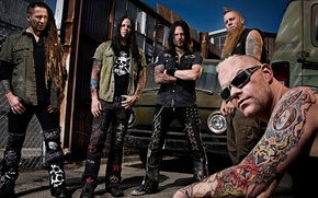 Картинка Death, Musician, Group, Five, Finger, 5FDP, FFDP, Punch