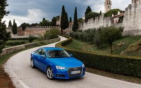 Картинка Audi, ауди, quattro, TFSI, 2015