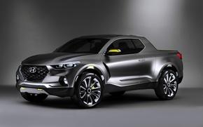 Обои Concept, Hyundai, Santa, Cruz, хендай