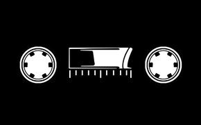 Обои шкала, пленка, кассета