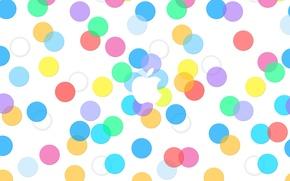 Картинка круги, Apple, яблоко, iphone, ipad, эпл, эппл, ios, ios 7