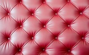 Обои leather, upholstery, texture, pink, кожа, обивка