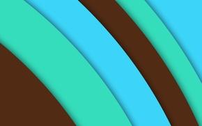Картинка линии, голубой, текстура, салатовый, коричневый