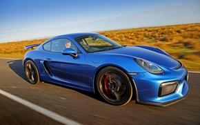 Картинка кайман, GT4, порше, Porsche, Cayman