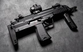 Картинка фон, Германия, Heckler & Koch, MP7A1, Пистолет-пулемёт