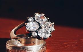 Картинка камни, кольца, бриллианты