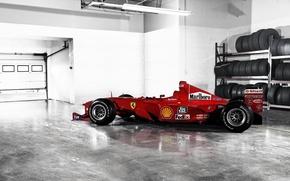 Картинка формула 1, Ferrari, болид, феррари, Formula 1, F1-2000