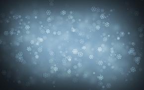 Картинка снежинки, новый год, минимализм