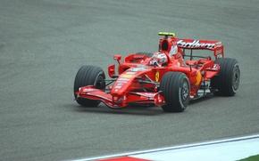 Картинка Ferrari, Formula 1, Kimi Raikkonen, F2007