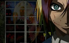 Картинка кровь, духи, пасть, призраки, безумие, зубастая, ночной кошмар, адская ухмылка, Neuro Nougami