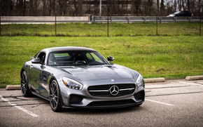 Картинка Mercedes, AMG, GTS, Parking