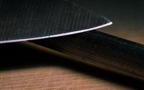Картинка макро, фон, нож