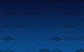 Картинка синий, абстракция, узоры, текстура, texture, blue, patterns, 1920x1080, abstraction
