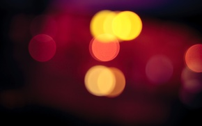 Картинка фото, bokeh, Red Light Blur