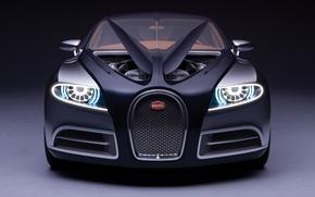 Обои двигатель, концепт, Bugatti