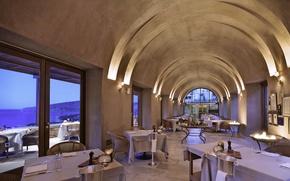 Картинка дизайн, стиль, интерьер, ресторан, помещение