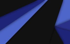 Картинка линии, синий, абстракция, черный, текстура, геометрия, material