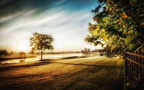 Картинка пейзаж, природа, First Light of Day