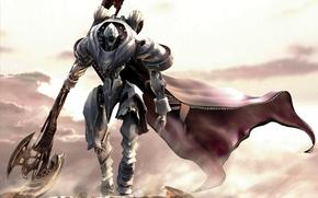Картинка робот, рыцарь, будущие