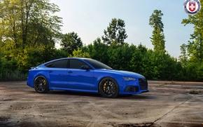 Картинка Audi, RS7, HRE, P104