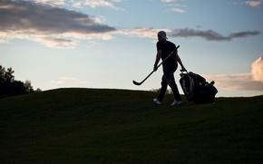 Картинка спорт, вечер, клюшка, хоккей, Леонид Комаров, Leo Komarov