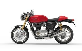 Картинка motorcycle, triumph, truxton 2016