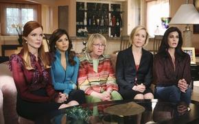 Картинка Eva Longoria, Teri Hatcher, Lynette Scavo, Bree Van De Kamp, Desperate housewives, Felicity Huffman, Marcia ...