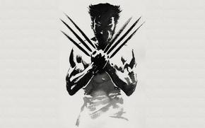 Картинка wolverine, pose, claws