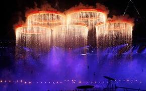 Обои спорт, лондон, кольца, олимпиада, sport, 2012, london