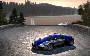 Картинка Cars, NFS Hot Pursuit 2010, Сидж, Bugatti Veyron 16.4