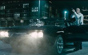 Картинка мужик, актер, Вин Дизель, Dominic Toretto, Форсаж 7, Furious 7
