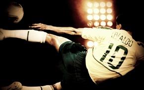 Картинка Wallpaper, 2002, нападающий, бразильский футболист, Rivaldo