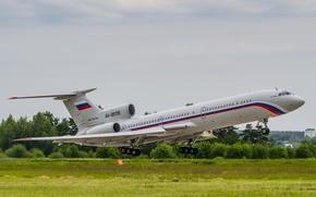 Картинка Russian Air Force, Tu-154, Ту-154, Tupolev, RA-85155, Туполев