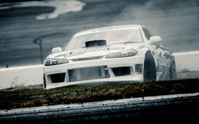 Картинка Ниссан, S15, Silvia, Nissan, Drift, Car, Сильвия
