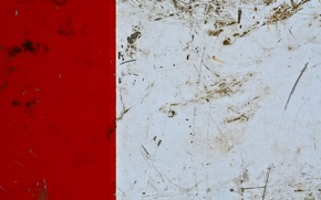 Обои wall, pattern, red, dirty, white