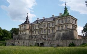 Картинка город, Замок, Подгорцы