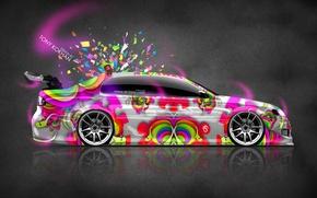 Картинка Стиль, Toyota, Фотошоп, Style, Wallpaper, Side, Тойота, JDM, Яркие Краски, Аристо, Aristo, el Tony Cars, …