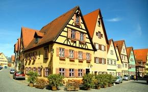 Картинка дома, Германия, Бавария, улицы, Динкельсбюль, Dinkelsbühl