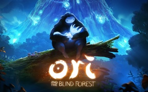 Картинка Art, Game, Ori And The Blind Forrest, Ori