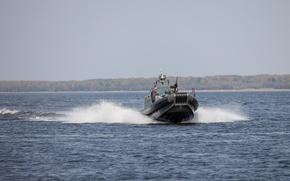 Картинка boat, combat boat, speed boat, BK-9