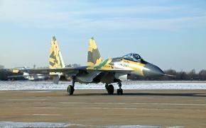 Картинка Истребитель, Россия, Су-35