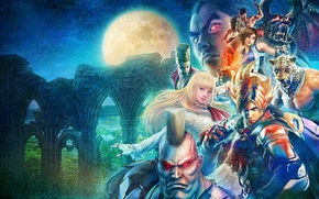 Картинка Jack, Kazuya Mishima, namco, King, Tekken Revolution, Marshall Law, Lars Alexandersson, Asuka Kazama, Paul Phoenix, ...