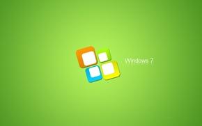 Картинка минимализм, логотип, Desktop, windows, microsoft, Seven, Logo, wallpapers, windows seven, Hi-Tech