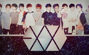 Обои kpop, exo m, luhan, sehun, exo k, exo